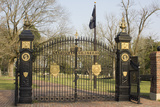 National Cemetery Entrance to Graves of Union Soldiers, Shiloh National Military Park, Tennessee Photographic Print