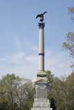 Monument to Iowa Troops Near Pittsburg Landing, Shiloh National Military Park, Tennessee Photographic Print