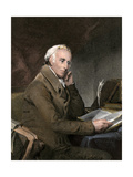 Dr. Benjamin Rush at His Desk Giclee Print