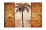 Sunset Palms I Premium Giclee Print by Scott Lee