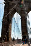 Brooklyn Bridge II Photographic Print by Erin Berzel