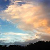 Rainbow Cloud Sq II Photographic Print by Alan Hausenflock
