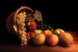 Cesta de fruta Lámina fotográfica por C. McNemar