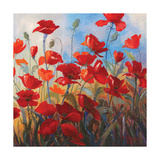 Poppies at Dusk II Posters by Stanislav Sidorov