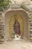 Our Lady of Guadalupe Niche Statue, St. Francis of Assisi Churchyard, Ranchos De Taos, New Mexico Photographic Print
