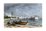 Sidon, a Chief Seaport of Ancient Phoenicia on the Mediterranean Giclee Print
