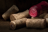 Wine Corks Still Life IV Photographic Print by C. McNemar