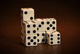 Dice Cubes I Reprodukcja zdjęcia autor C. McNemar