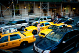 NYC Traffic Photographic Print by Erin Berzel