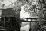 Stone Mountain Mill Photographic Print by George Johnson