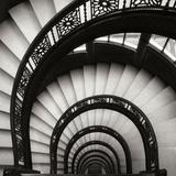 Rookery Stairwell Sq Fotografisk tryk af Jim Christensen