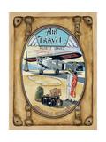 Flight Souvenir Giclee Print by Gregory Gorham