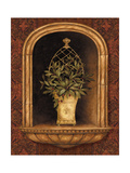 Olive Topiary Niches II Premium Giclee Print by Pamela Gladding