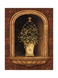 Olive Topiary Niches II Premium Giclee Print by Pamela Gladding