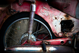 Thai Motorbike Photographic Print by Erin Berzel