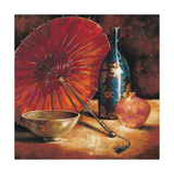 Asian Still Life I Premium Giclee Print by S. Rodriguez