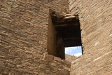 Pueblo Bonito, an Anasazi/Ancestral Puebloan Site in Chaco Canyon, New Mexico Photographic Print