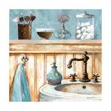 Blue Bath I Premium Giclee Print by Gregory Gorham