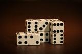 Dice Cubes II Reprodukcja zdjęcia autor C. McNemar