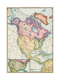 North America at the Close of the Revolution - Treaty of Paris, 1783 Giclee Print