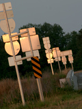 Country Signs I Photographic Print by Scott Larson