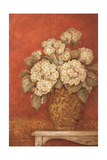 Villa Flora Hydrangea Premium Giclee Print by Pamela Gladding