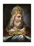 Idealized Portrait of Charlemagne Giclee Print