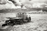 Truck in Field Reprodukcja zdjęcia autor George Johnson