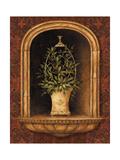 Olive Topiary Niches I Giclée-Premiumdruck von Pamela Gladding