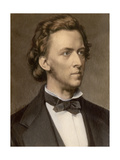 Composer and Pianist Frederic Chopin Giclee Print