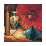 Asian Still Life II Premium Giclee Print by S. Rodriguez