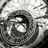 Prague Clock II Fotografisk tryk af Jim Christensen