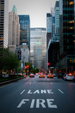 Manhattan Fire Lane Photographic Print by Erin Berzel