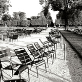 Jardin des Tuileries II Photographic Print by George Johnson