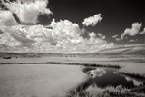 Yellowstone Creek and Clouds I Photographic Print by George Johnson