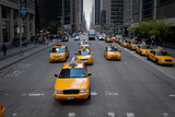 NYC Taxi Cabs Photographic Print by Erin Berzel