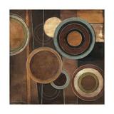 Abstract Circles II Giclee Print by Kimberly Poloson