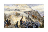 Battle Above the Clouds on Lookout Mountain, Tennessee, 1863 Giclee Print