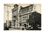 Standard Oil Company Building and the Welles Building on Broadway, New York, 1880s Giclee Print