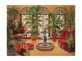 Conservatory II Giclee Print by Jillian Jeffrey