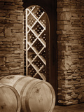 Wine Cellar II Photographic Print by Scott Larson