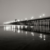 Pier Night 1 Photographic Print by Lee Peterson