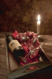 Wine by Candlelight I Photographic Print by C. McNemar