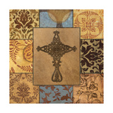 Patchwork Cross I Giclee Print by Todd Williams