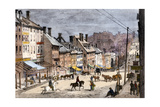 High Street in Richmond, Virginia, During the Civil War, 1862 Giclee Print