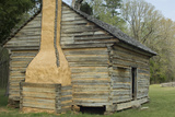 Massey Log Cabin on the Battlefield, Shiloh National Military Park, Tennessee Photographic Print