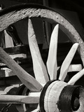 Wagon Wheel I Photographic Print by Scott Larson