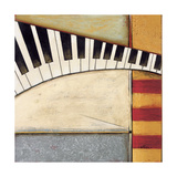Music Notes II Giclee Print by Susan Osborne