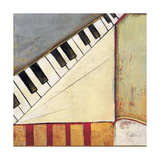 Music Notes I Giclee Print by Susan Osborne