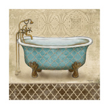 Lattice Bath II Premium Giclee Print by Todd Williams